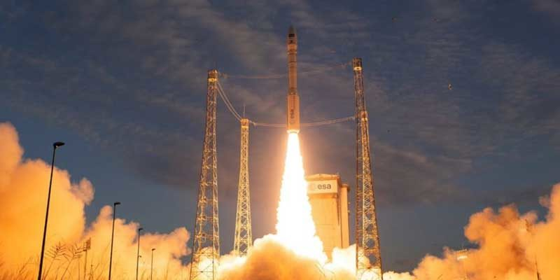 Arianespace's Vega rocket launches ESA's Aeolus