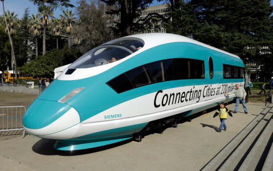 California bullet train project on track to blow through billions of more dollars