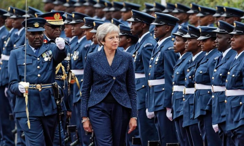 Britain's May in Kenya to Boost Economic Ties Amid Brexit