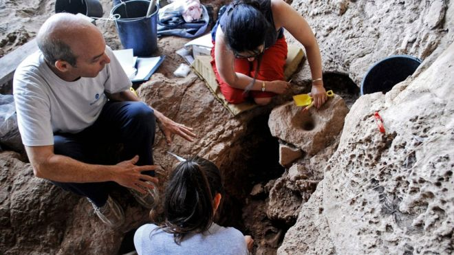 'World's oldest brewery' found in cave in Israel, say researchers
