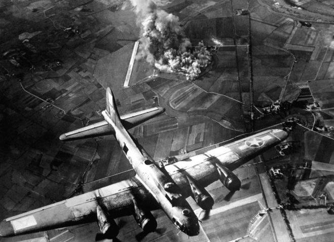 World War II bombs 'felt in space'