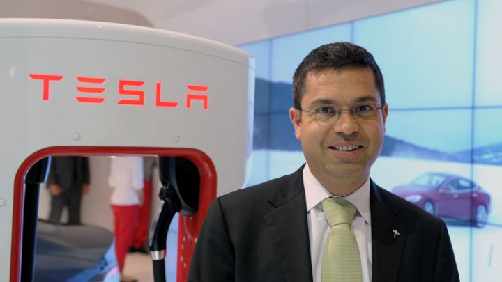 Tesla says Jerome Guillen has been promoted to president of automotive
