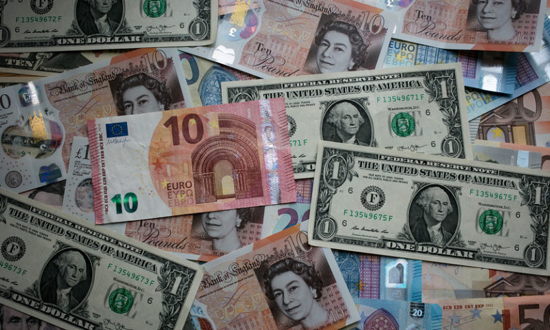 Dollar drops to 2-week low after inflation data