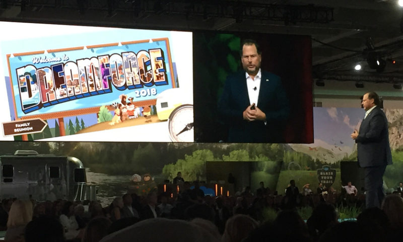 Salesforce pegs forecast on outsize multicloud spenders