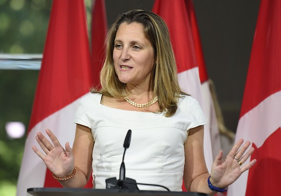 Down to the wire, U.S. and Canada keep talking about Nafta