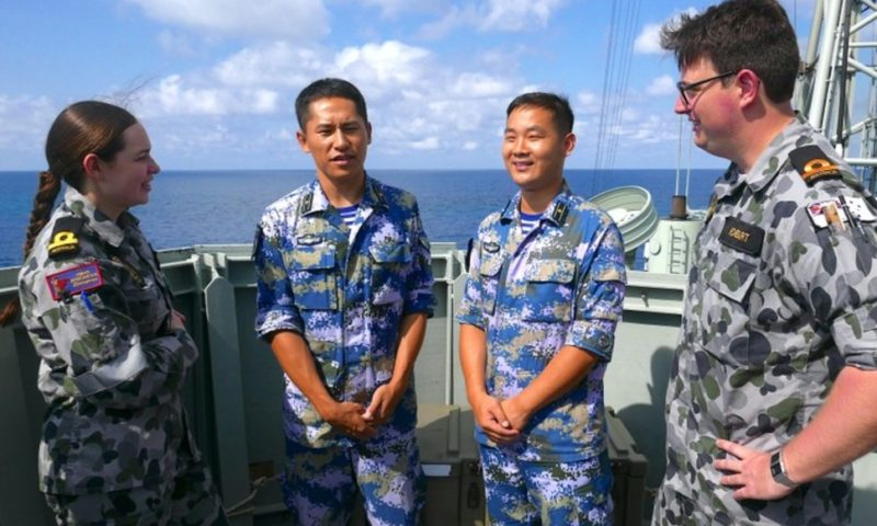 China Engages in Australia's Largest Maritime Drill for First Time