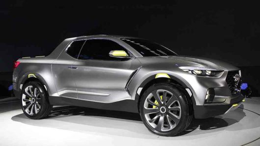 Hyundai's compact pickup Santa Cruz heads closer to 2020 launch