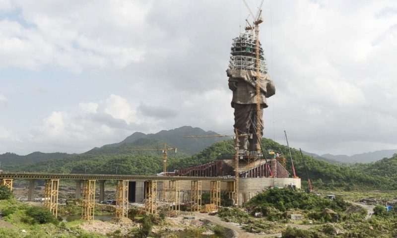India to unveil world's largest statue