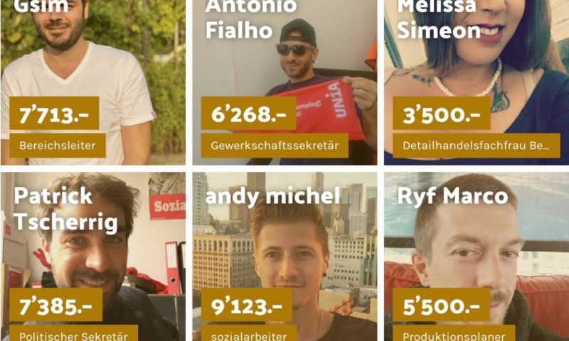 In tight-lipped Switzerland, young people are publicly sharing their salaries