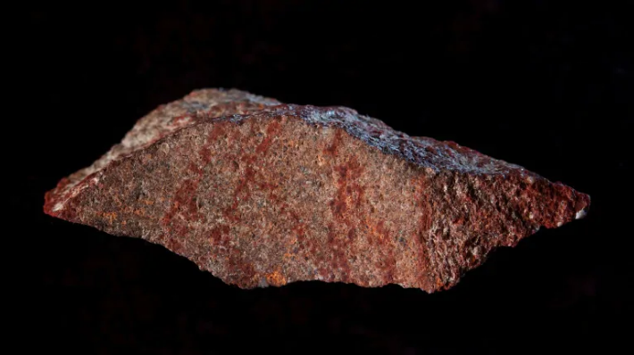 World's oldest known drawing found in African cave