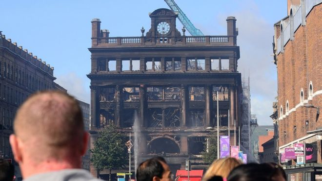 Businesses affected by Belfast Primark fire to get cash