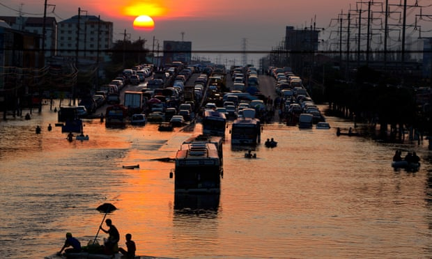 From London to Shanghai, world's sinking cities face devastating floods