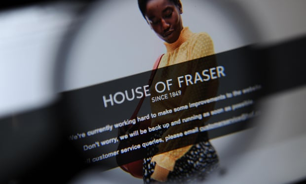'New' House of Fraser brings new problems for customers