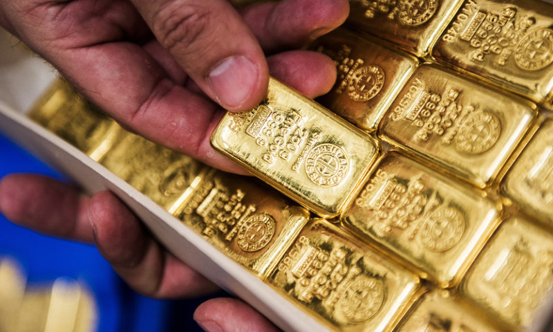 Gold marks highest settlement since late July