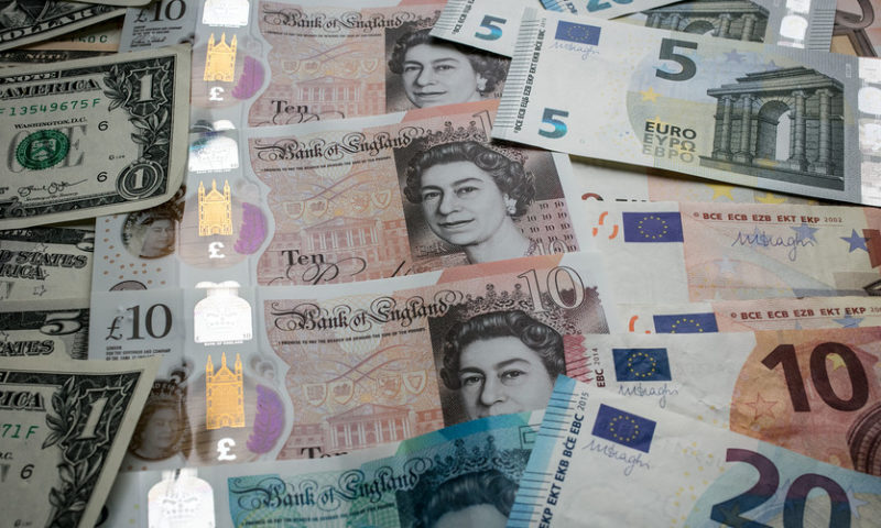 Dollar strengthens as sterling and euro fall prey to political pressure