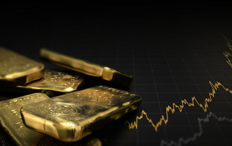 Gold climbs towards 3-month peak as equity rout sparks safe-haven rush