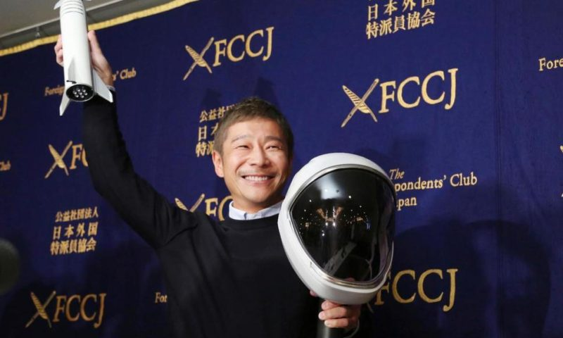 Japanese Tycoon Going on SpaceX Rocket Says He Trusts Musk