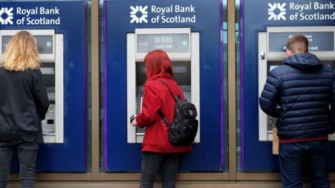 RBS 'paid £400 a day for envelope-stuffing'