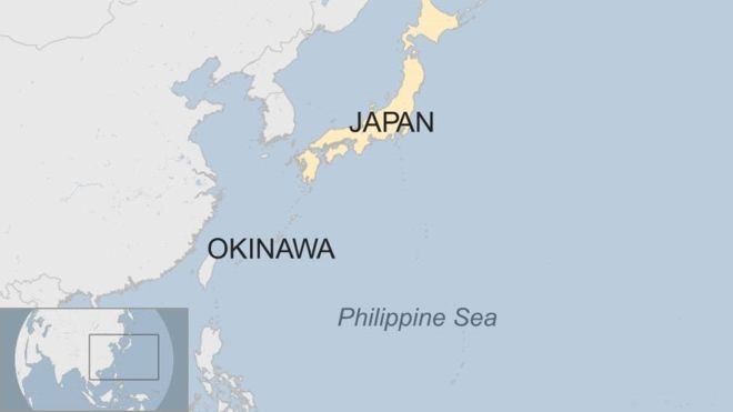 US fighter jet crashes into sea off Japan