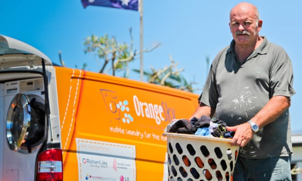 Cleaning up: mobile laundry for the homeless goes international