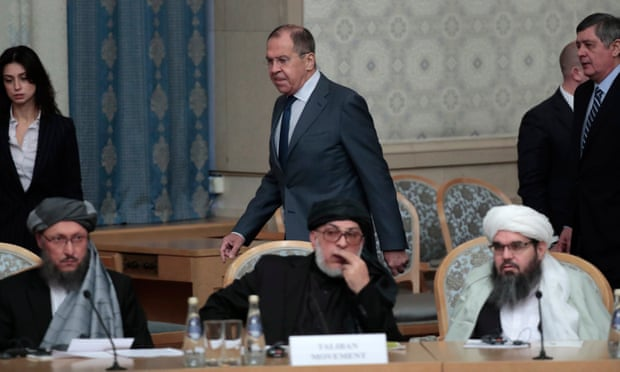 Russia hosts talks between Taliban and Afghan peace council