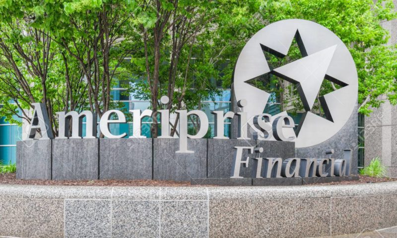 Ameriprise Financial Inc. (AMP) Rises 3.53% for November 26