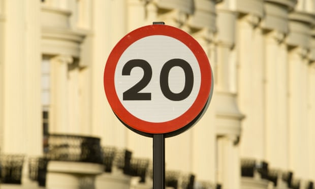 Little evidence 20mph speed limit reduces casualties, says report