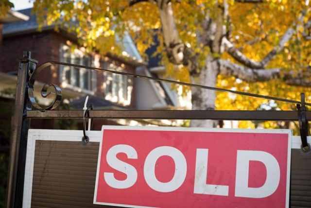 T.O. home prices up