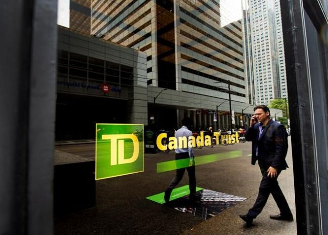 TD Bank reports big profit