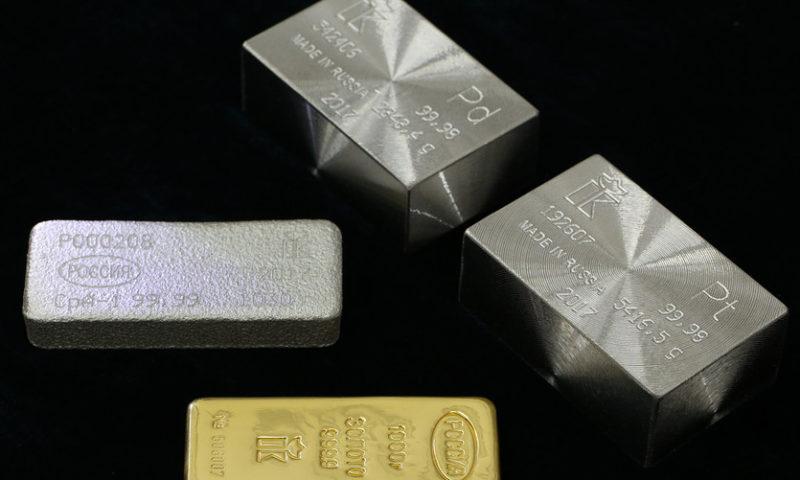 Palladium futures tally a record high