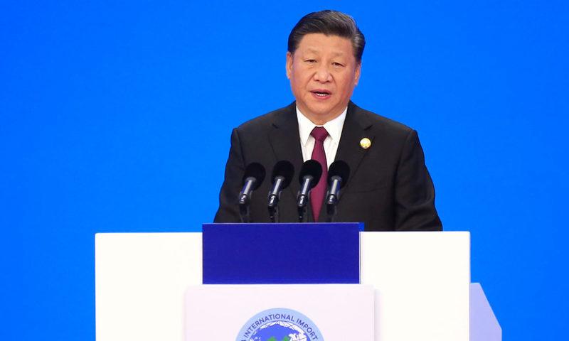 Xi touts free trade, China's massive market at import expo