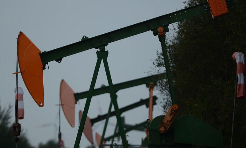 Oil prices bounce to start the week after worst day in three years