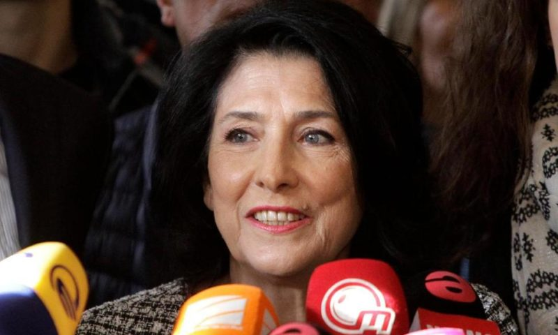 French-Born Diplomat Wins Presidency in Ex-Soviet Georgia
