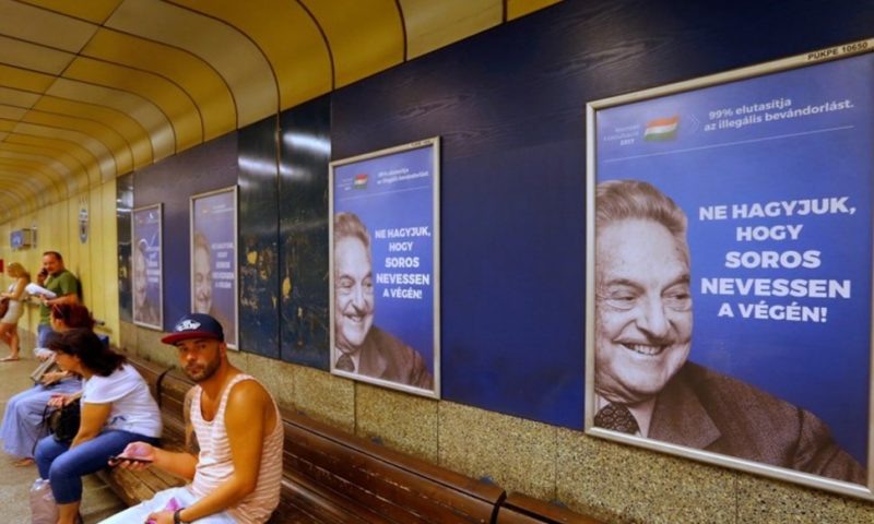 Hungary's Government Rules Out Concessions for Soros-Founded University