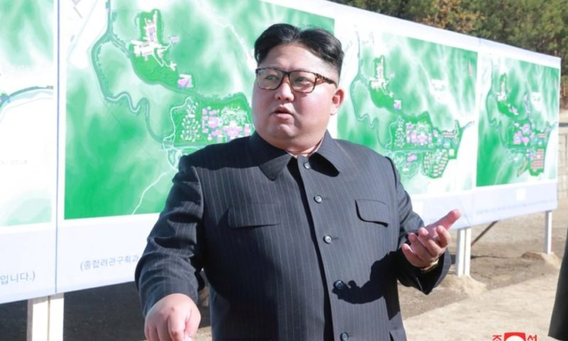 North Korea Says Kim Inspects Testing of Newly Developed 'Tactical' Weapon