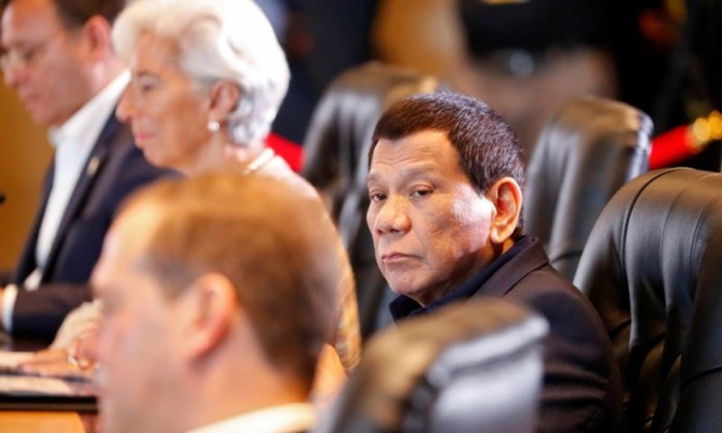 Philippine Senators Ask Duterte to Disclose China Energy Plan