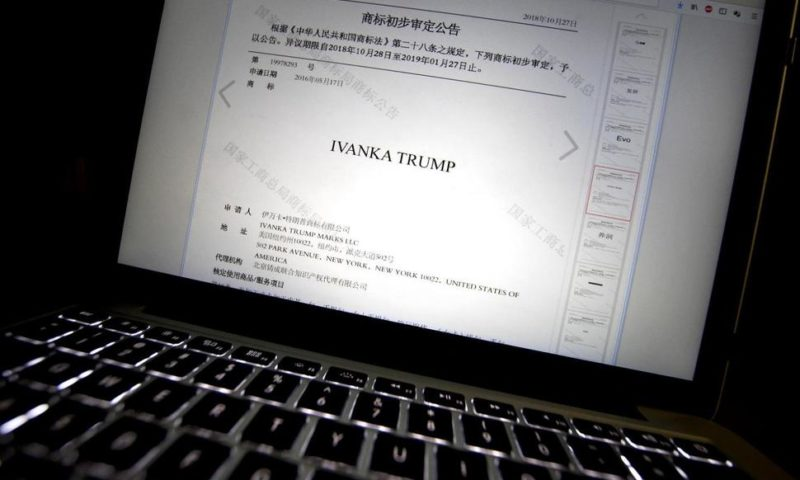 China Grants Trump Family 18 Trademarks in 2 Months