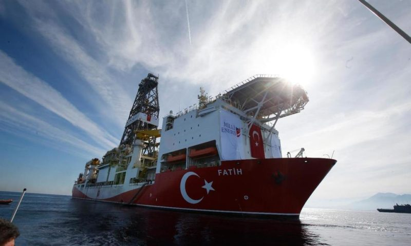 Turkey Begins Oil and Gas Search That Could Stoke Tensions