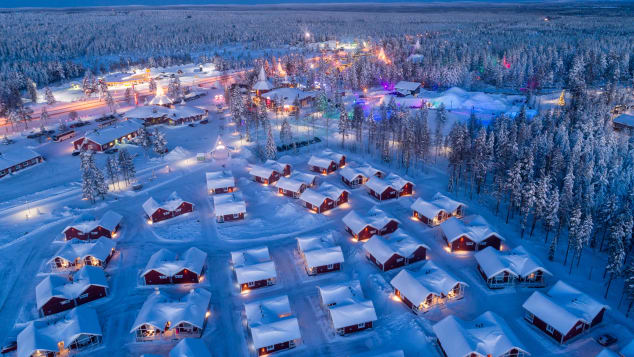 No snow in Lapland could spell a festive flop
