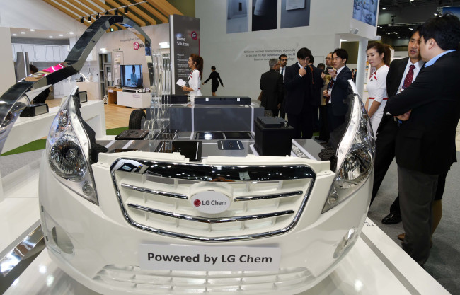LG Chem to gain on flourishing battery biz