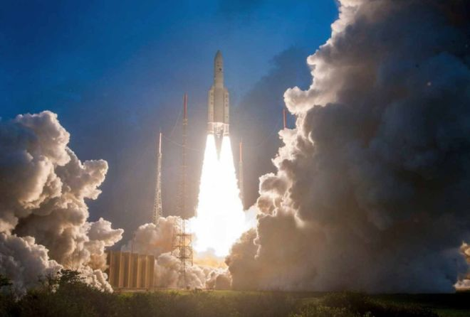 India launches 'heaviest' satellite for internet access
