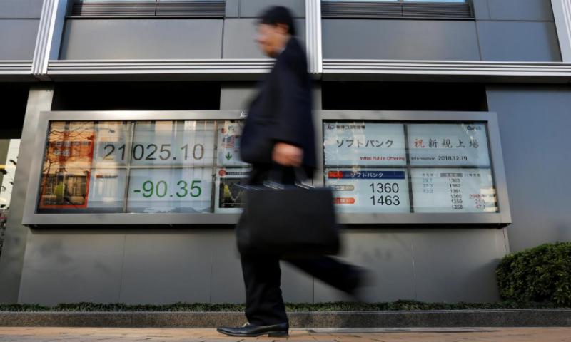 Global growth worries, U.S. government shutdown threat hit stocks