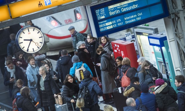 'We are becoming a joke': Germans turn on Deutsche Bahn