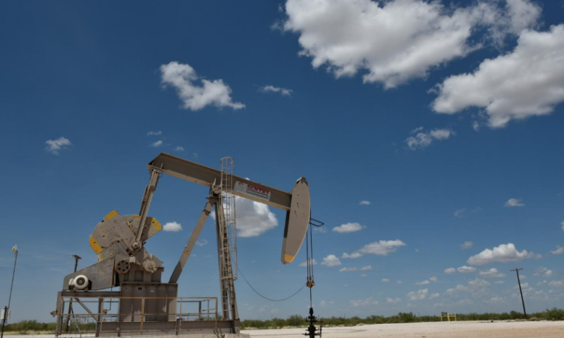 Oil prices tumble to lowest in more than a year as equities sell off