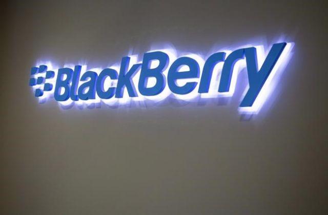 BlackBerry revenue up
