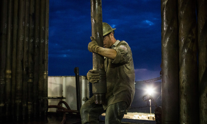 U.S. oil tumbles 6.7% to a 17-month low in holiday-shortened day