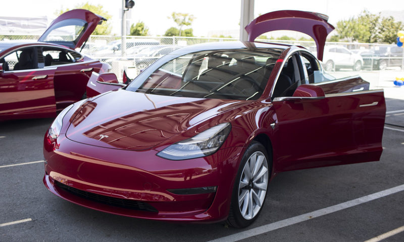 Tesla shares fall nearly 8% after reimbursement plan, price cuts in China