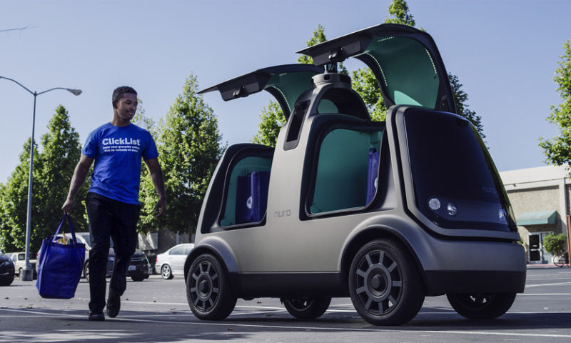 Kroger rolls out driverless cars to deliver groceries