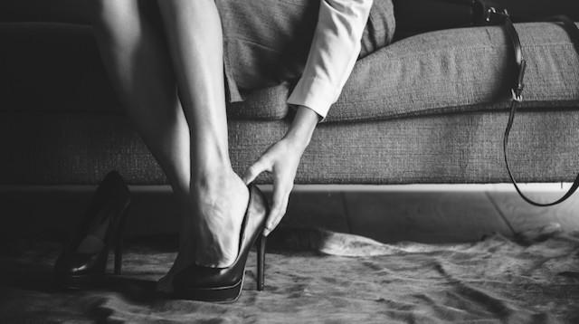 No more mandatory heels