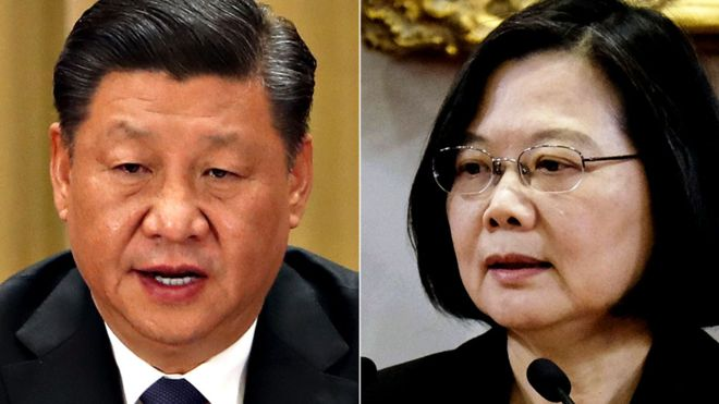 Xi Jinping says Taiwan 'must and will be' reunited with China